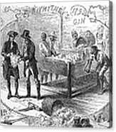 Cotton Gin, 1793 Acrylic Print by Granger