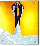 Cranes Acrylic Print by Ilias Athanasopoulos