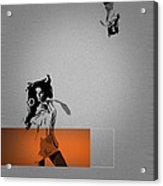 Craze Acrylic Print by Naxart Studio