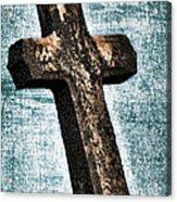 Cross Acrylic Print by Darren Fisher