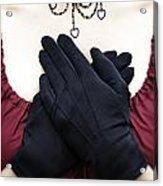 Crossed Hands Acrylic Print by Joana Kruse