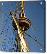 Crows Nest Acrylic Print by Skip Willits