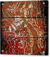 Crucifixion - Tile Acrylic Print by Gloria Ssali