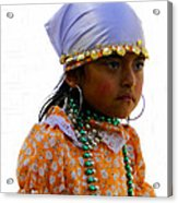 Cuenca Kids 199 Acrylic Print by Al Bourassa
