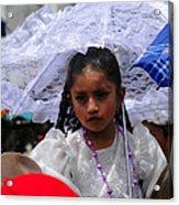 Cuenca Kids 51 Acrylic Print by Al Bourassa