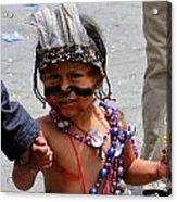 Cuenca Kids 85 Acrylic Print by Al Bourassa