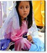 Cuenca Kids 96 Acrylic Print by Al Bourassa