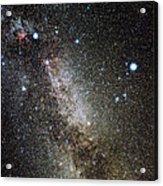 Cygnus And Lyra Constellations Acrylic Print by Eckhard Slawik