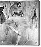 Daddy Long Legs, Leslie Caron, 1955 Acrylic Print by Everett