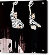Damn Yankees, From Left Bob Fosse, Gwen Acrylic Print by Everett