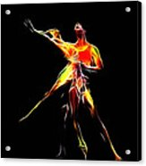 Dancing Lovers Acrylic Print by Stefan Kuhn