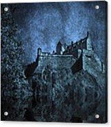Dark Castle Acrylic Print by Svetlana Sewell