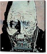 Darth Vader Anakin Skywalker Acrylic Print by Giuseppe Cristiano
