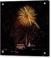 Dc Celebration Acrylic Print by David Hahn