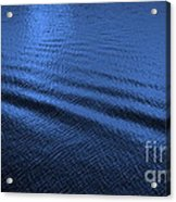 Deep Blue Sea Acrylic Print by Carol Groenen