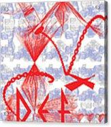 Defstick Acrylic Print by Foltera Art
