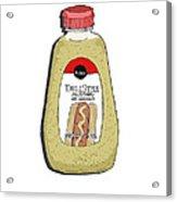Deli Style Mustard Acrylic Print by George Pedro