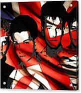 Depeche Mode 80s Heros Acrylic Print by Stefan Kuhn