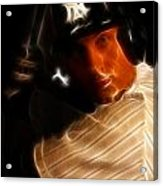 Derek Jeter - New York Yankees - Baseball  Acrylic Print by Lee Dos Santos
