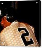 Derek Jeter II- New York Yankees - Baseball  Acrylic Print by Lee Dos Santos