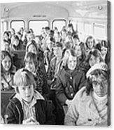 Desegregation: Busing, 1973 Acrylic Print by Granger