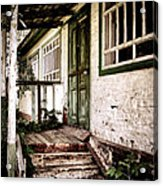 Deserted Not Forgotten Acrylic Print by Julie Palencia