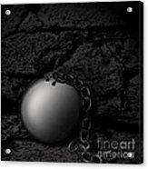 Detached Acrylic Print by Joe Russell
