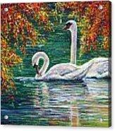 Devotion Acrylic Print by Ann Marie Bone