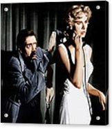 Dial M For Murder, From Left Anthony Acrylic Print by Everett