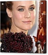 Diane Kruger At Arrivals For Premiere Acrylic Print by Everett