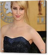 Dianna Agron At Arrivals For 17th Acrylic Print by Everett