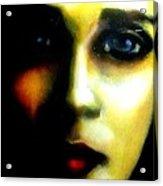 Did I Say Love Acrylic Print by Allen n Lehman