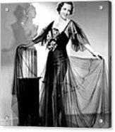Dodsworth, Mary Astor, 1936 Acrylic Print by Everett