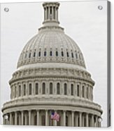 Dome Of The Capitol Building Acrylic Print by Roberto Westbrook