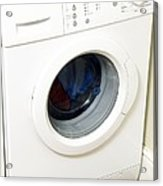 Domestic Washing Machine Acrylic Print by Johnny Greig
