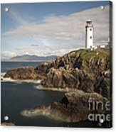 Donegal Lighthouse Acrylic Print by Andrew  Michael