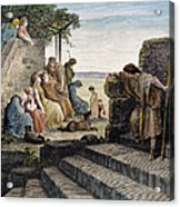Dor�: Prodigal Son Acrylic Print by Granger