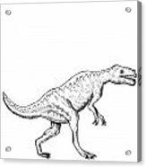 Dorkosaurus - Dinosaur Acrylic Print by Karl Addison