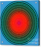 Dots X-ray Acrylic Print by Atiketta Sangasaeng