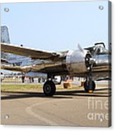 Douglas A26b Military Aircraft 7d15757 Acrylic Print by Wingsdomain Art and Photography