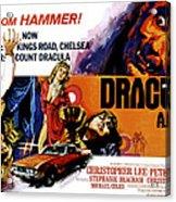 Dracula A.d. 1972, Stephanie Beacham Acrylic Print by Everett