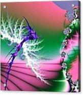 Dragonfly Acrylic Print by Sharon Lisa Clarke