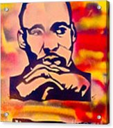 Dream Big Acrylic Print by Tony B Conscious
