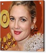 Drew Barrymore At The After-party Acrylic Print by Everett