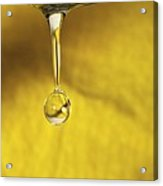 Dripping Tap Acrylic Print by Photostock-israel