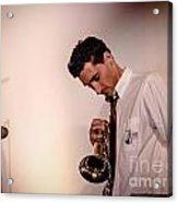 Droid- Jordan Mcclean On Trumpet Acrylic Print by Jim DeLillo