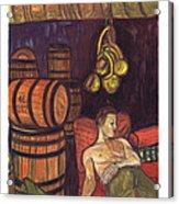 Drunken Arousal Acrylic Print by Melinda English