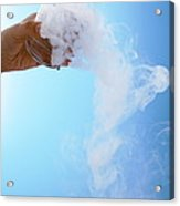 Dry Ice Acrylic Print by Gustoimages