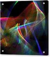Dusted Rage Acrylic Print by Cyryn Fyrcyd