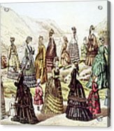 E. Butterick & Co.s Quarterly Review Acrylic Print by Everett